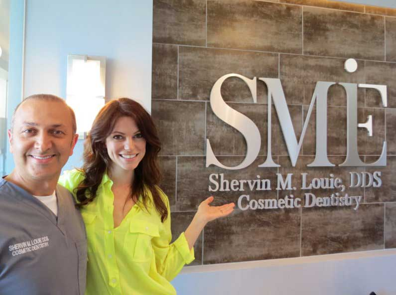 smile in la shervin m. louie