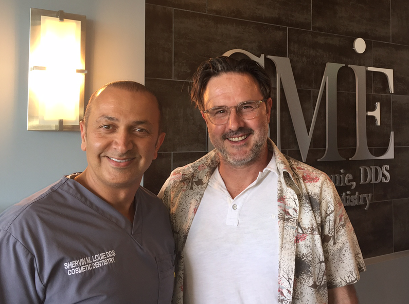 Los angeles sedation dentistry David Arquette